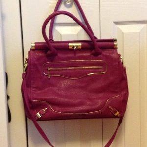 Cute Olivia  & Joy magenta color purse